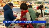 2월 소비자심리지수 94.4…비관적 인식↑