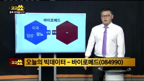 [김진우의 빅데이터]바이로메드(084990)