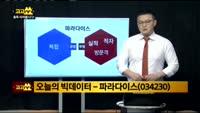 [김진우의 빅데이터] 파라다이스(034230)