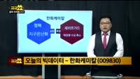 [김성남의 빅데이터] 한화케미칼(009830)