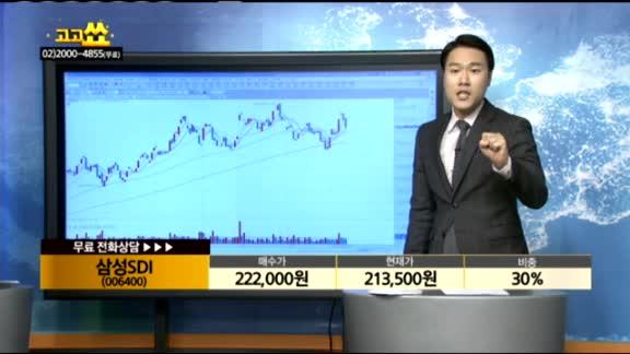 [종목상담]삼성SDI(006400)