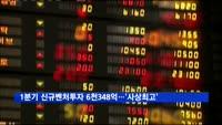 1분기 신규벤처투자 6천348억 원…'사상최고'