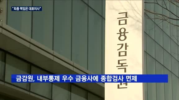 """금융사 내부통제 혁신…""""최종 책임은 대표이사"""""""
