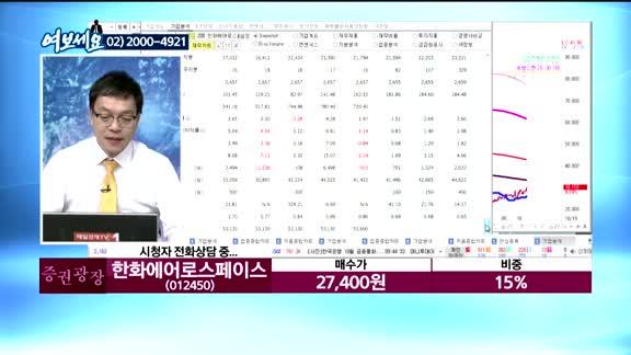 [김동호의 여보세요]카페24(042000), 신라젠(215600), 한화에어로스페이스(012450), 테이팩스(055490)