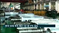 한국 50대 부자 재산 1년 새 17% 감소…이건희 '최고 부자'