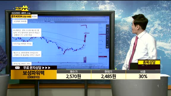 [종목상담]보성파워텍(006910)