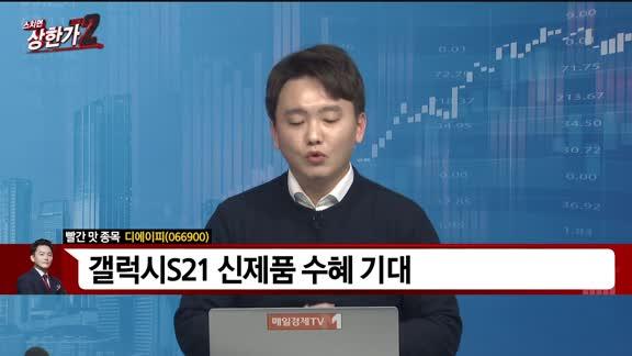 [빨간 맛 종목] 디에이피(066900)